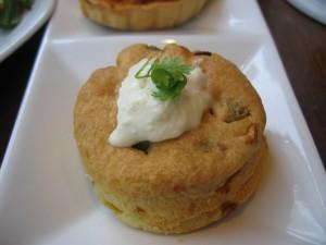 Hartige scone met Mierikswortel